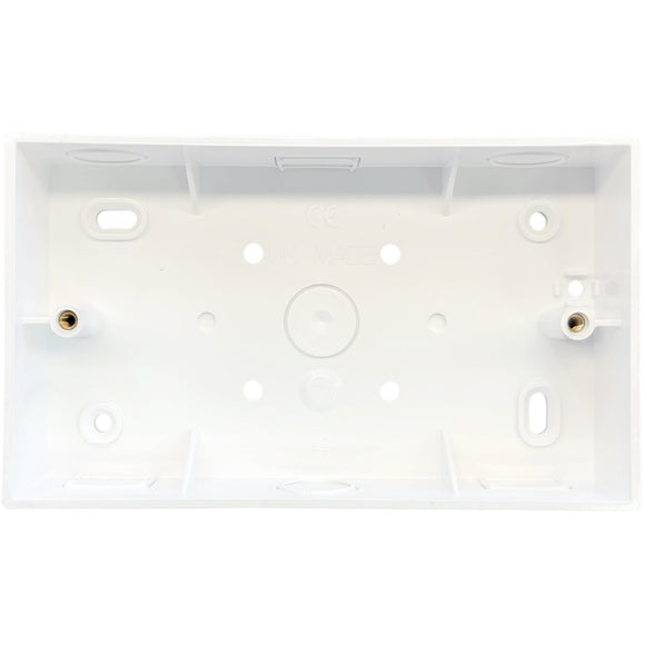 2G PVC Surface Mounted Box - Square Corners (SPR2)
