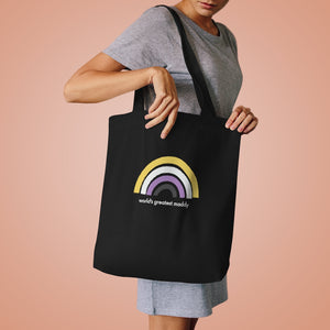 World's Greatest Maddy Cotton Tote Bag