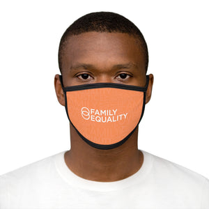 Love, Justice, Family, Equality: Mixed-Fabric Face Mask