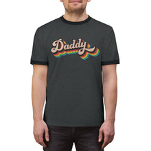Load image into Gallery viewer, LGBTQ+ Daddy - Unisex Ringer Tee