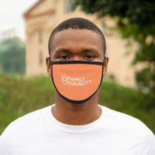 Load image into Gallery viewer, Love, Justice, Family, Equality: Mixed-Fabric Face Mask