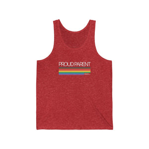 Proud Parent - Unisex Jersey Tank
