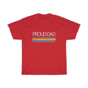 Proud Dad - Unisex Heavy Cotton Tee