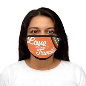 Love Makes a Family: Mixed-Fabric Face Mask