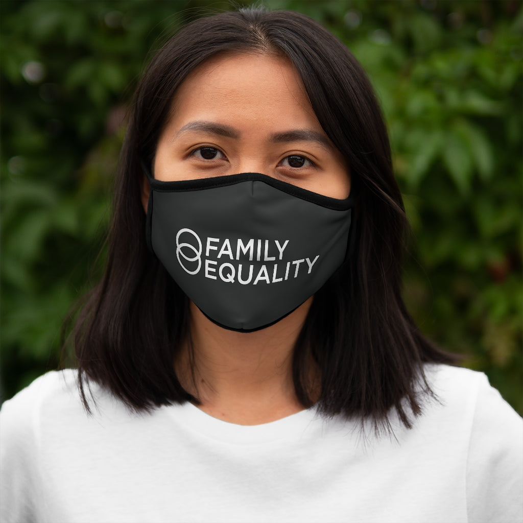 Family Equality: Fitted Polyester Face Mask