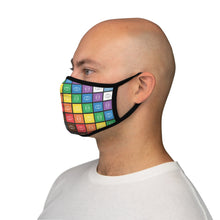 Load image into Gallery viewer, Rainbow: Fitted Polyester Face Mask
