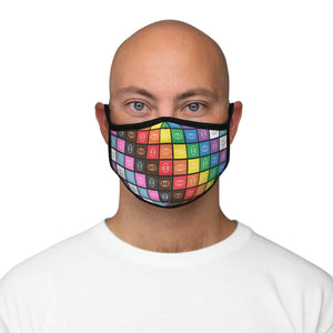 Rainbow: Fitted Polyester Face Mask