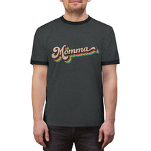 Load image into Gallery viewer, LGBTQ+ Momma - Unisex Ringer Tee