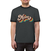 Load image into Gallery viewer, LGBTQ+ Mom - Unisex Ringer Tee