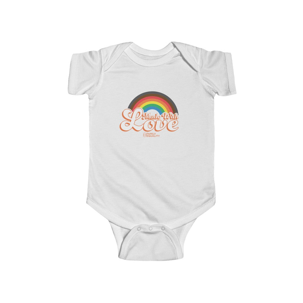 Made with Love - Infant Fine Jersey Bodysuit