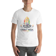 Load image into Gallery viewer, Family Week 2019 Unisex T-Shirt - Pale Colors