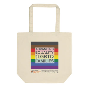 Family Equality Rainbow Tote Bag