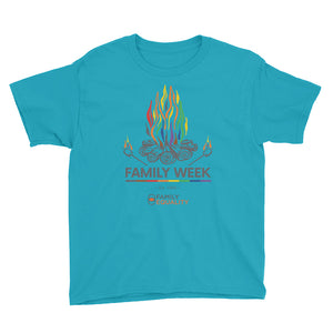 Family Week 2019 Youth T-Shirt - Pale Colors