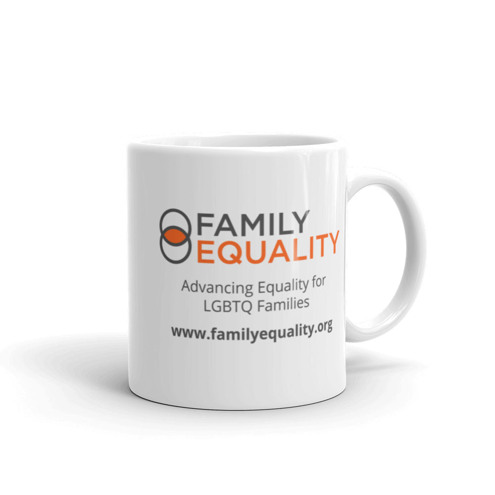 Family Equality Rainbow Mug