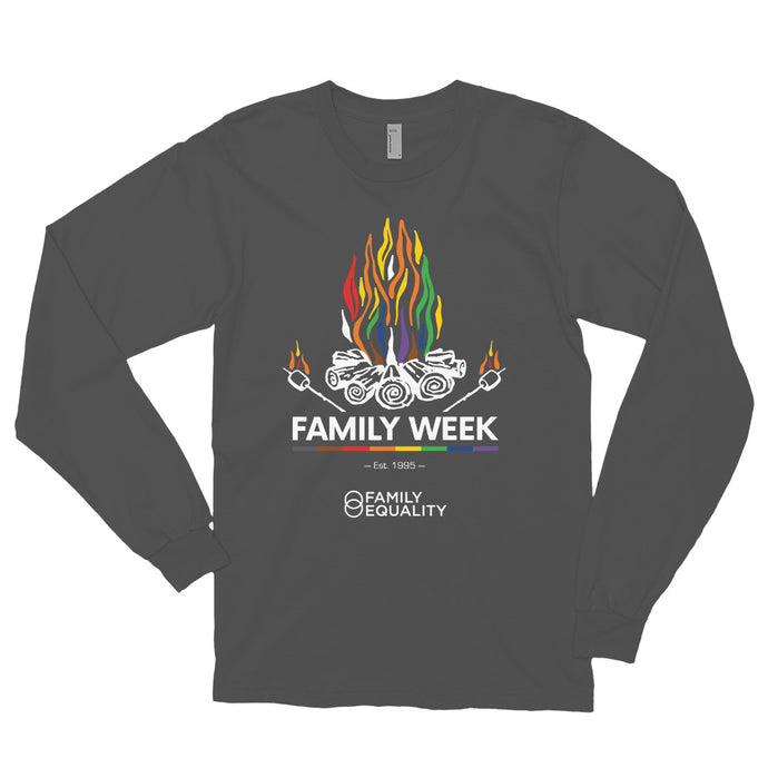 Family Week 2019 Unisex Long Sleeve T-Shirt - Dark Colors
