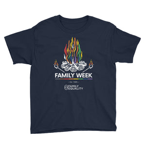 Family Week 2019 Youth T-Shirt - Bold Colors