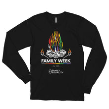 Load image into Gallery viewer, Family Week 2019 Unisex Long Sleeve T-Shirt - Dark Colors