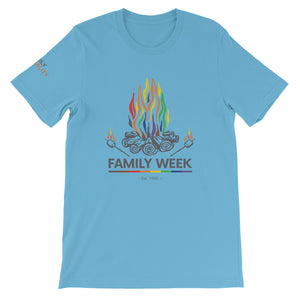Family Week 2019 Unisex T-Shirt - Pale Colors