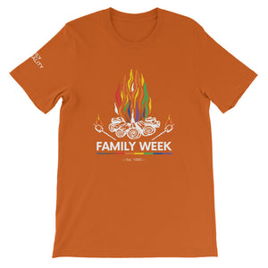 Family Week 2019 Unisex T-Shirt - Bold Colors