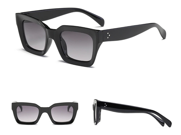 Ave Maria Black Square Sunglasses