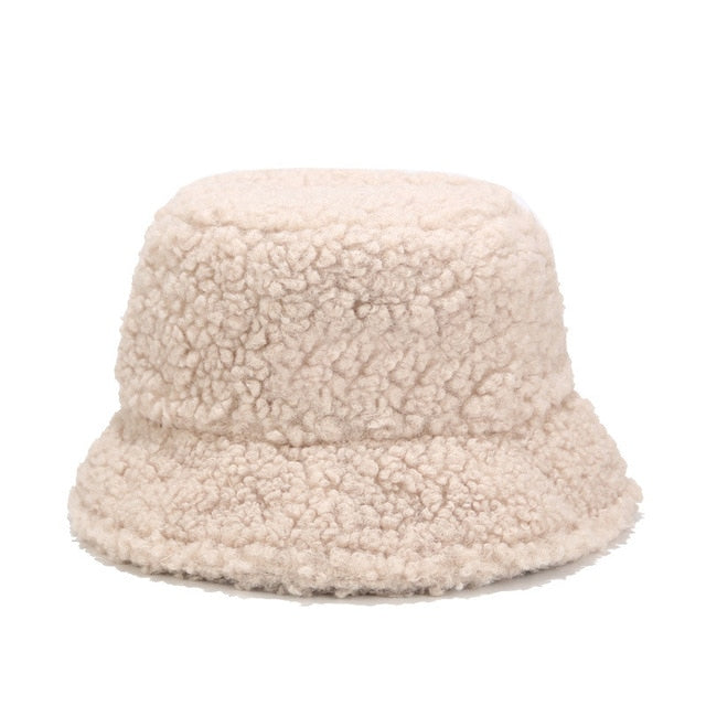 Winter Bucket Hat - Beige