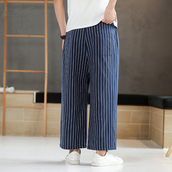 Baggy Striped Pants