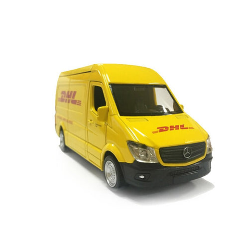 DHL Truck Toy