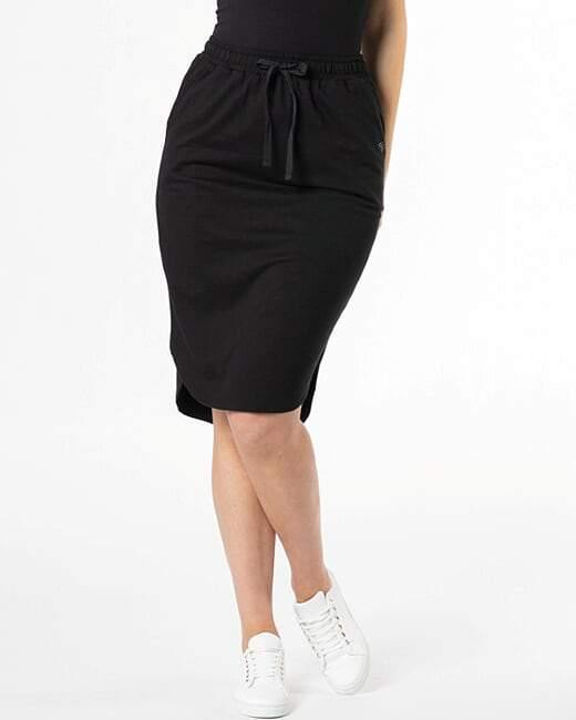Ellen Skirt-Black - BETTY BASICS - allaboutagirl