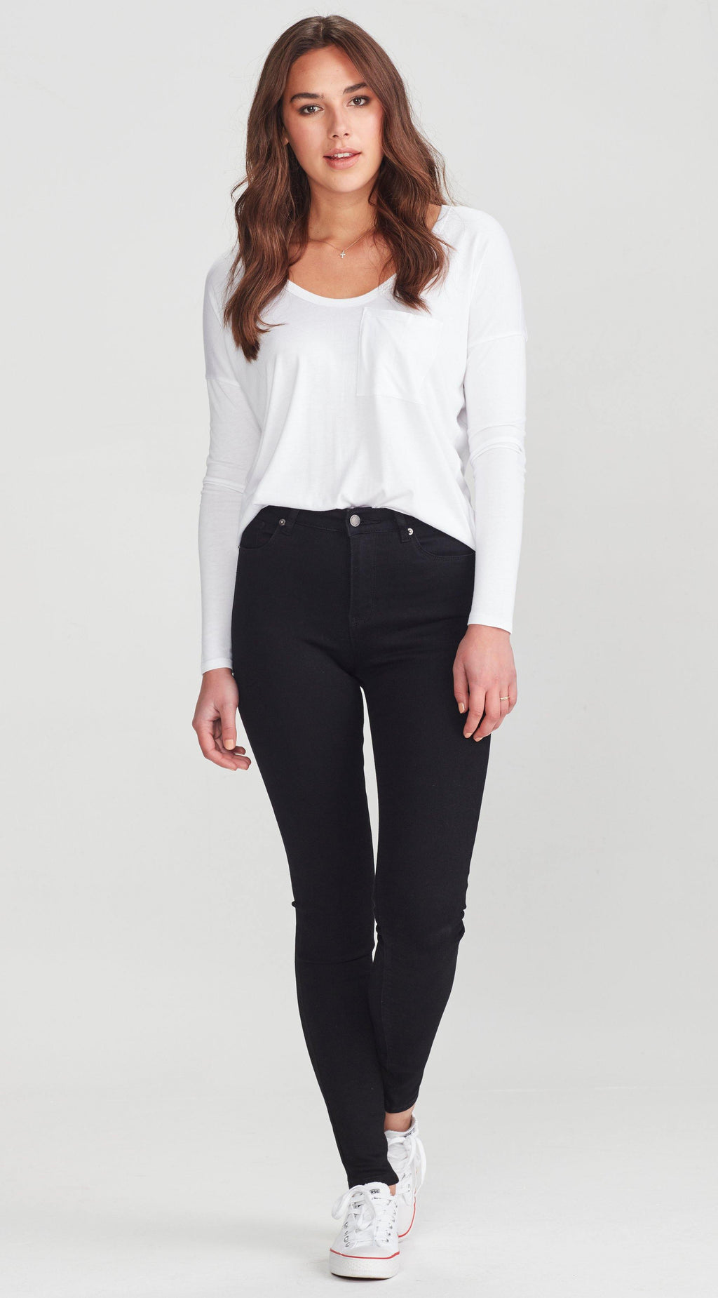 Slip Tall Stuff Jean-Black