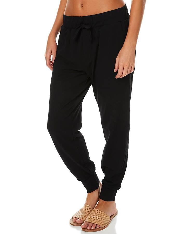 Falling Bricks Pants - Black Joggers - SILENT THEORY - allaboutagirl