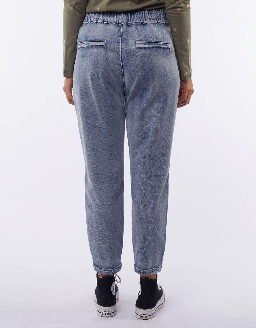 Little White Lie Flow Heritage Denim Blue Jogger   Due mid March - allaboutagirl