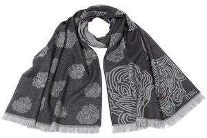 Degradé Flowers Scarf