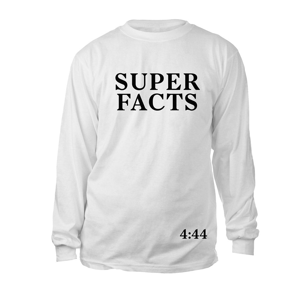 Jay-Z 4:44 Super Facts Long Sleeve Tee