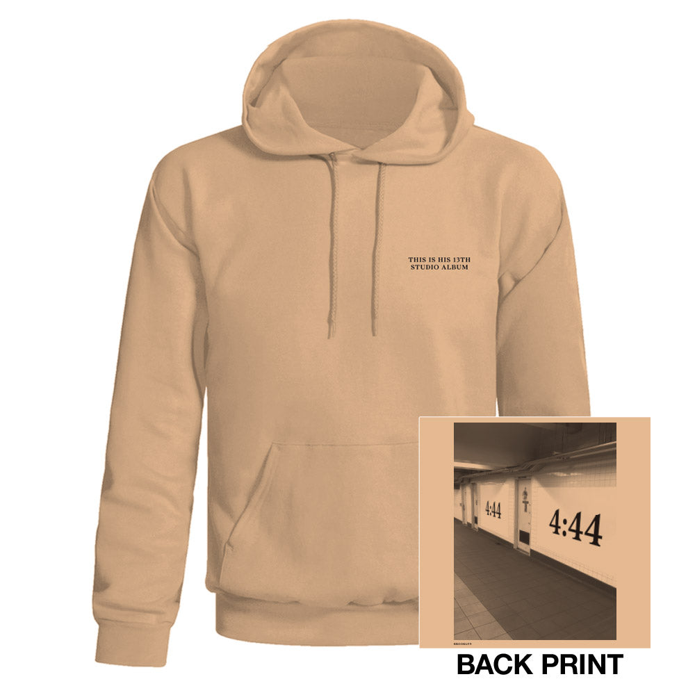 Jay-Z 4:44 Paris Pullover Hooded Sweatshirt