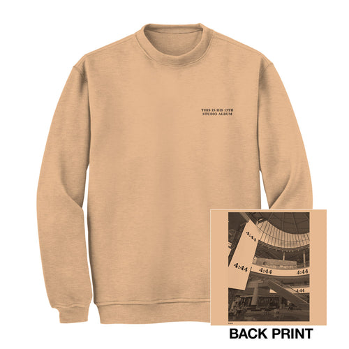 Jay-Z 4:44 Paris Crewneck Sweatshirt