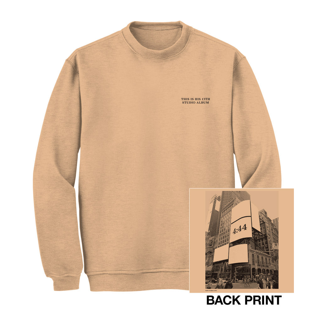 Jay-Z 4:44 New York City Crewneck Sweatshirt