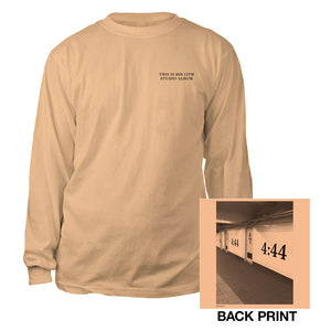 Jay-Z 4:44 Brooklyn Long Sleeve Tee