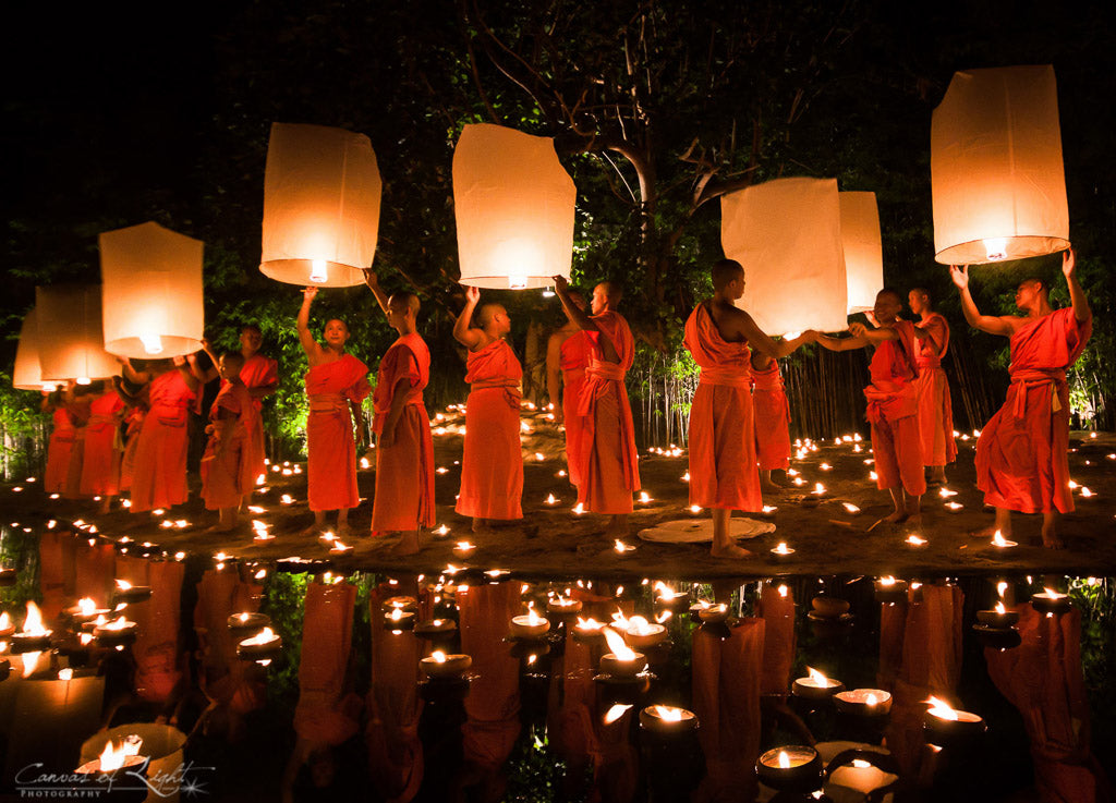 Monks and Lanterns