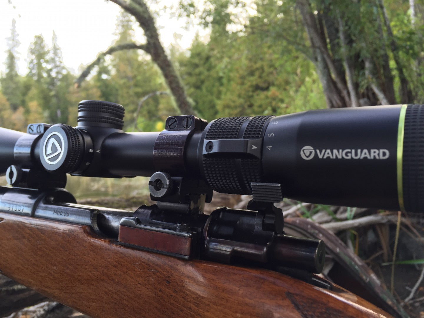 Vanguard's new Endeavor RS 4-12 x 40 mm riflescope