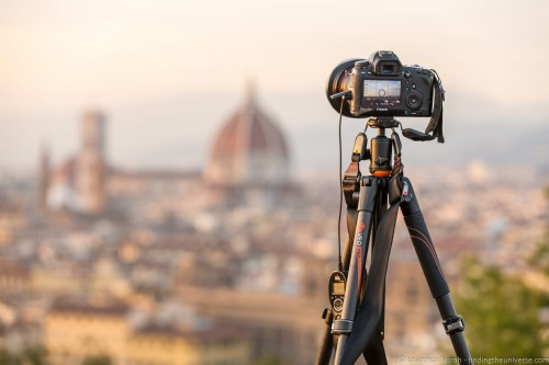 VEO tripod above Florence 2
