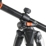 ALTA PRO 263AB 100 Aluminum Tripod with Magnesium Alloy Ball Head - Rated at 15.4lbs/7kg