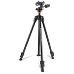 ALTA CA 203AO Aluminum Tripod with 3-Way Pan Head - Rated at 11lbs/5kg