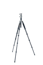 VEO 2 Go Capture Kit: VEO 2 GO 265AB Tripod + VEO GO 34M BK Camera Bag