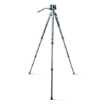 VEO 2 PRO 263CV CARBON FIBER TRIPOD WITH 2-WAY VIDEO PAN HEAD - RATED AT 11LBS/5KG
