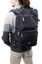 VEO FLEX 47M Slim Rolltop Backpack - Black