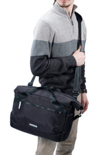 VEO FLEX 35M Slim Rolltop Shoulder Bag - Black