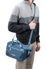 VEO FLEX 25M Slim Rolltop Shoulder Bag - Blue