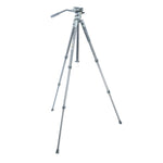 VEO 2 PRO 233CV ALUMINUM TRIPOD WITH 2-WAY VIDEO PAN HEAD - RATED AT 8.8LBS/4KG