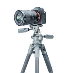 VEO 2 PRO 263CPV CARBON TRIPOD WITH 3-WAY PAN HEAD - RATED AT 13.2LBS/6KG