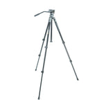 VEO 2 PRO 233AV ALUMINUM TRIPOD WITH 2-WAY VIDEO PAN HEAD - RATED AT 8.8LBS/4KG